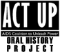 Logo for Act-Up Oral History Project
